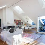 illustration appartement sous comble