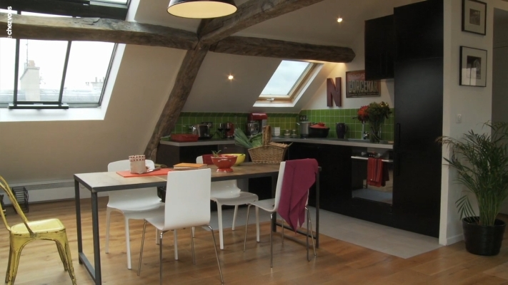 exemple appartement sous comble