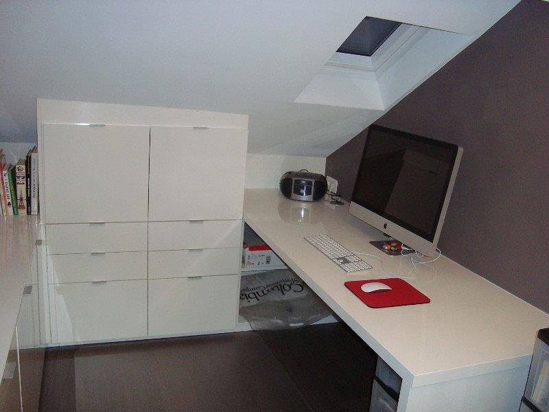 Bureau sous comble mes combles for Idee d amenagement de combles
