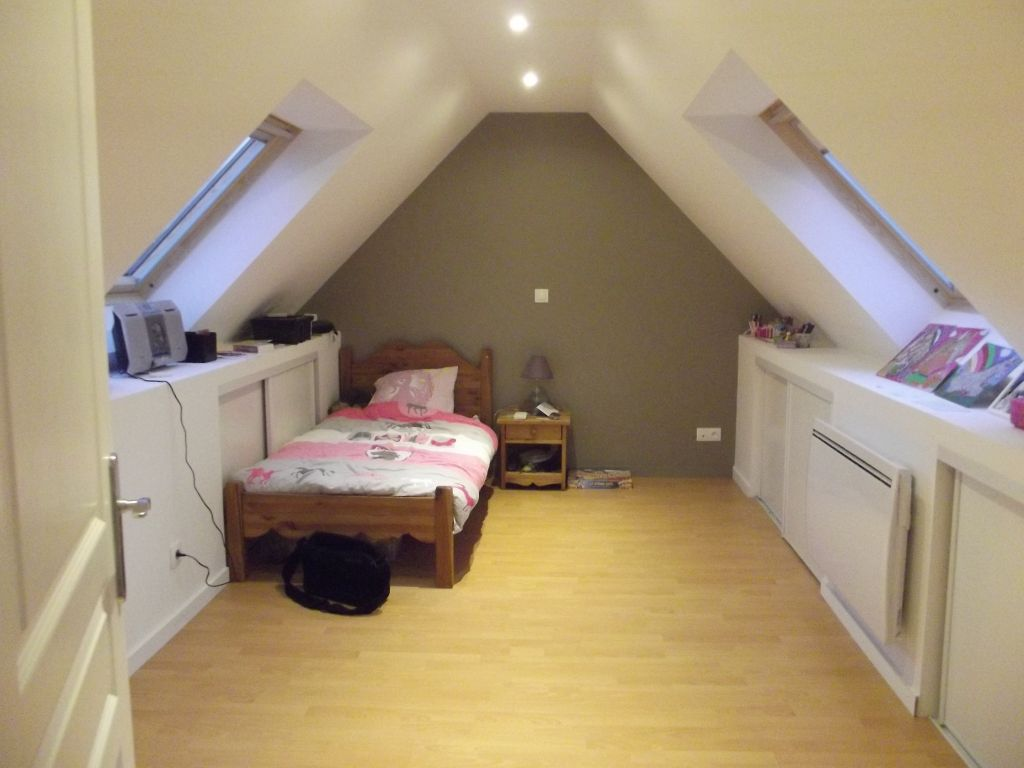 Chambre combles mes combles for Amenagement petit comble
