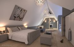 Stunning Idee Amenagement Chambre Sous Comble Contemporary