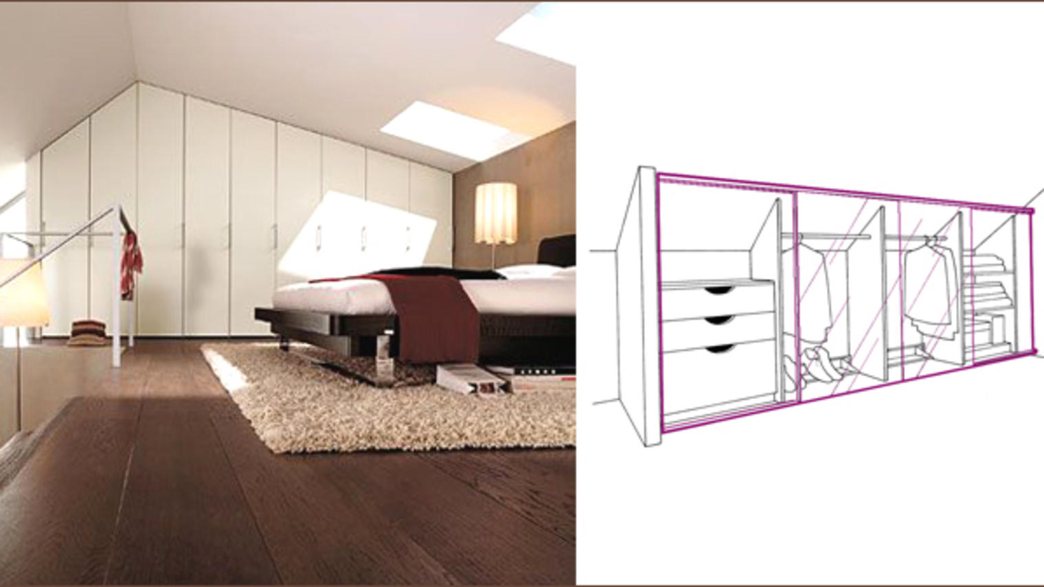 Super Amenagement Combles Dressing ~ Meilleures images d'inspiration  CY84
