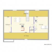 image plan amenagement combles