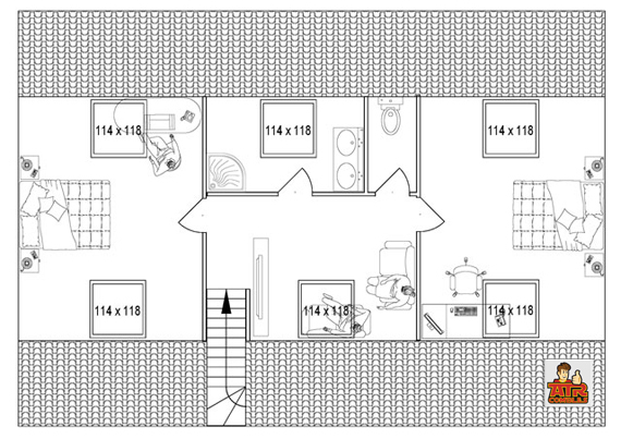 Plan comble mes combles - Plan d amenagement de combles ...