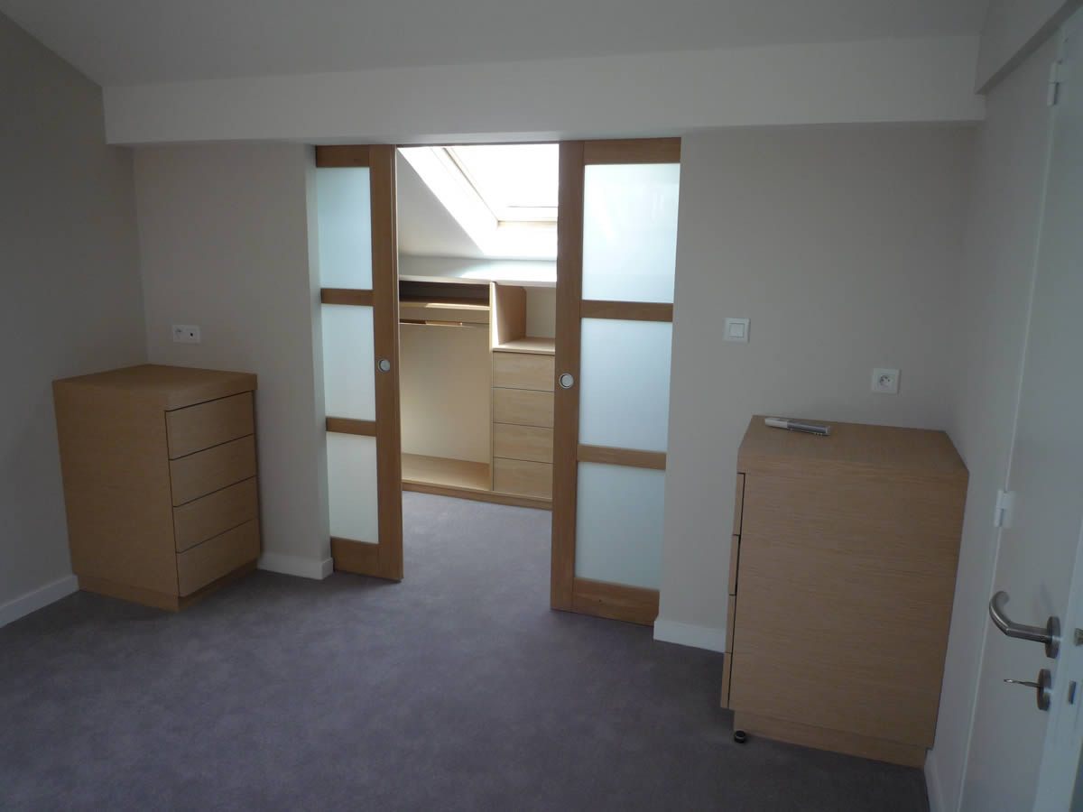 Suite parentale sous comble mes combles for Amenagement suite parentale combles